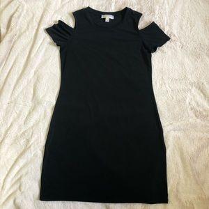 Michael Kors Cold Shoulder Short Sleeve Dress